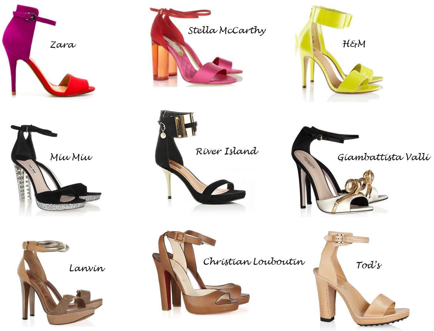 Heels Strap Ankle